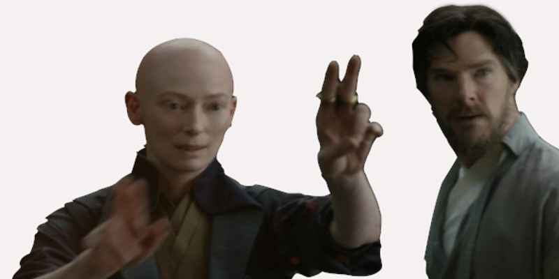 Tilda Swinton's thoughts about casting